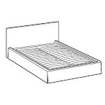 Rodzaje stelaży w łóżkach LeComfort - Zwykły