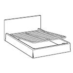 Rodzaje stelaży w łóżkach LeComfort - Podnoszony z jednej strony