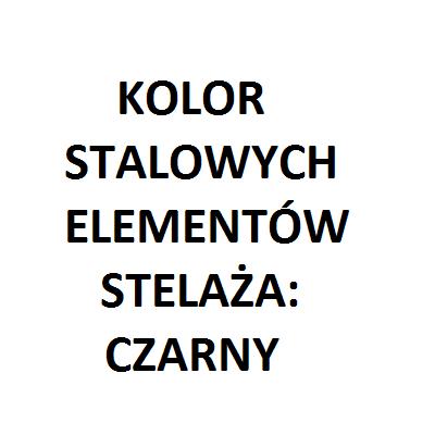elementy stalowe kolor czarny